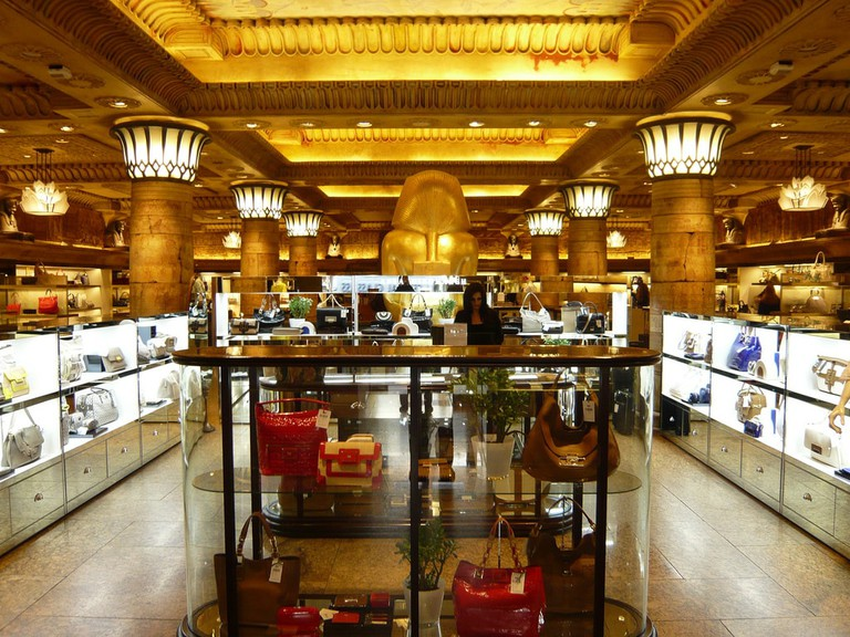 Harrods, the face of Kensington Decadence