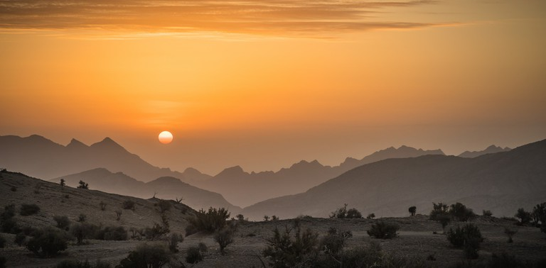 Sunrise on Jebel Akhdar © Robert Haandrikman