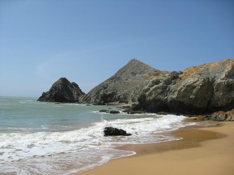 Playa del Pilon near Cabo de la Vela │