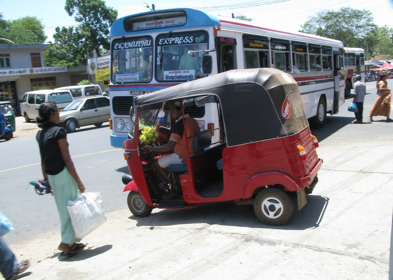 Getting around in tuk tuks is just easier! You can also call them Three Wheelers