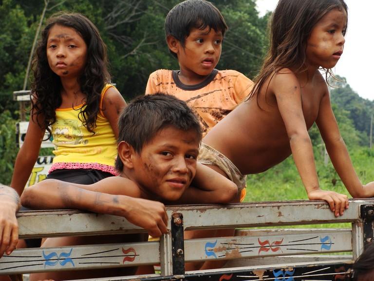 Rainforest children