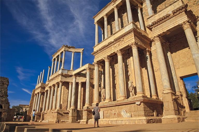 The Roman theatre of Mérida © Tomás Fano / Flickr