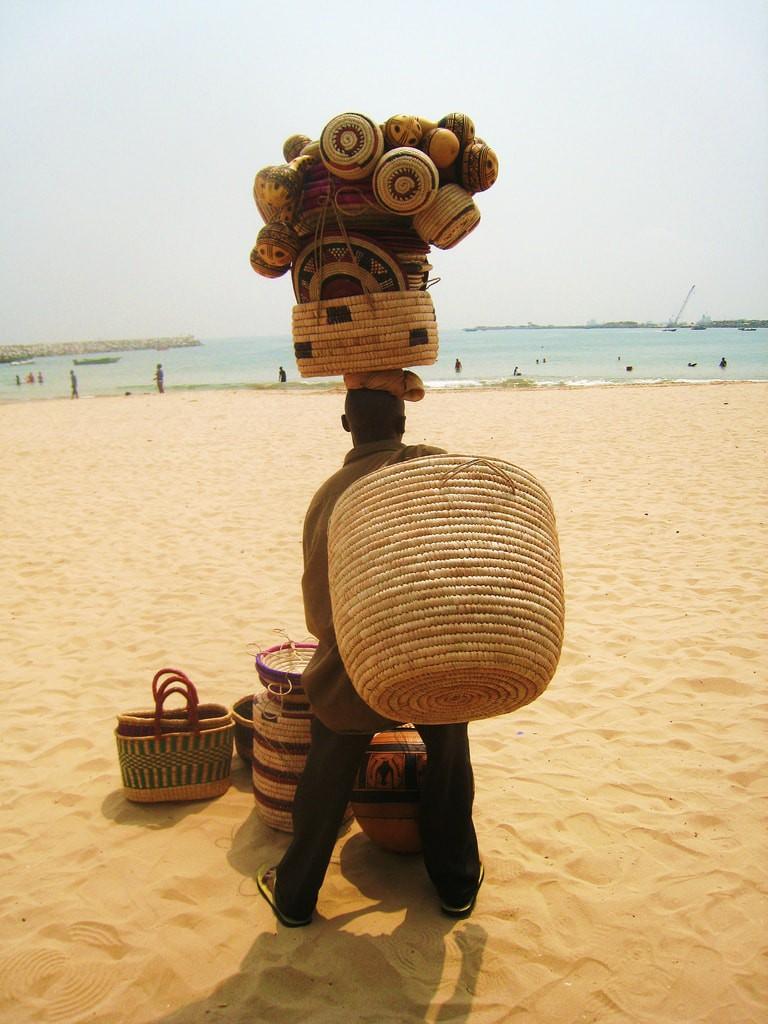 Nigerian at the Beach