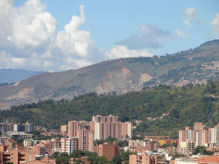 Volador Hill in Medellin