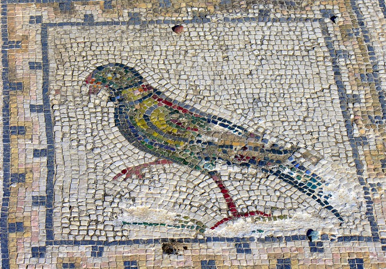 A domestic mosaic in Itálica © Phillip Capper / Flickr