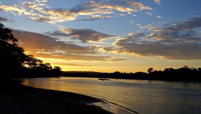 Sunset on Rio Usumacinta │
