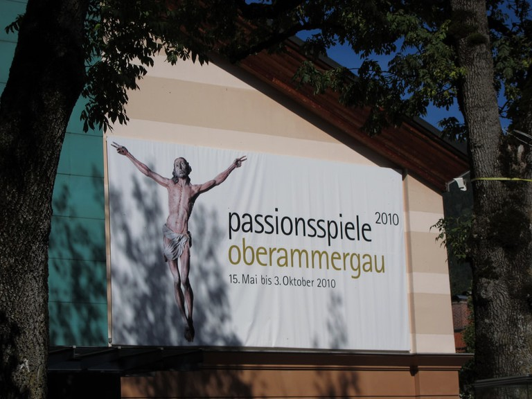 Passion play theater