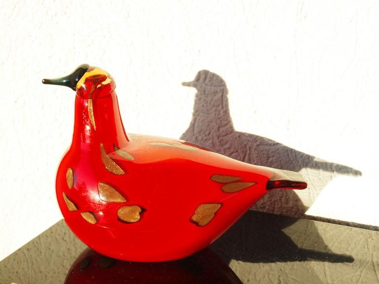 Glass Iittala bird