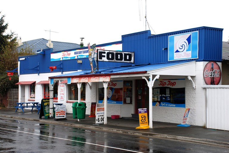 Waiau Dairy, Canterbury, New Zealand, 2007