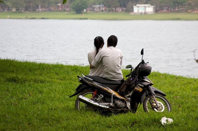 Motorbike love | © Katina Rogers/Flickr