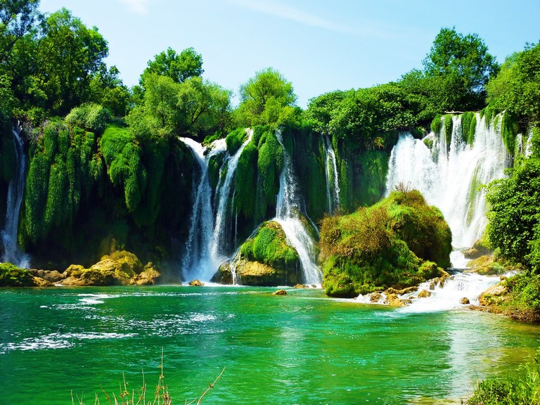 Kravice Waterfall   © Sean MacEntee/Flickr