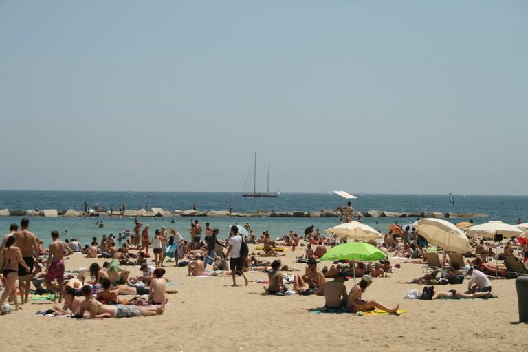 Barceloneta beach © Ajuntament Barcelona / Flickr