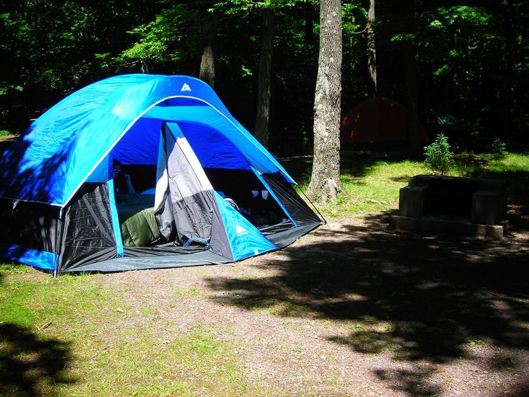 Camping in the Catskills