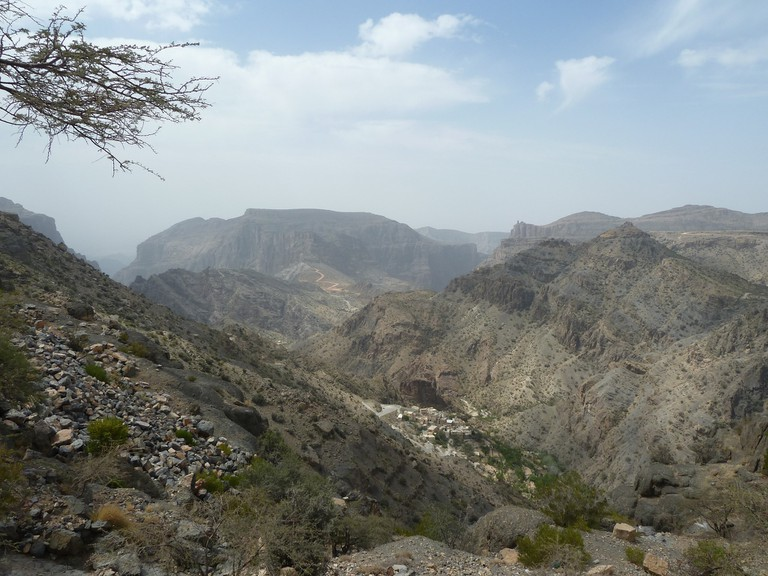 Al Hajar Mountains © Kathryn James