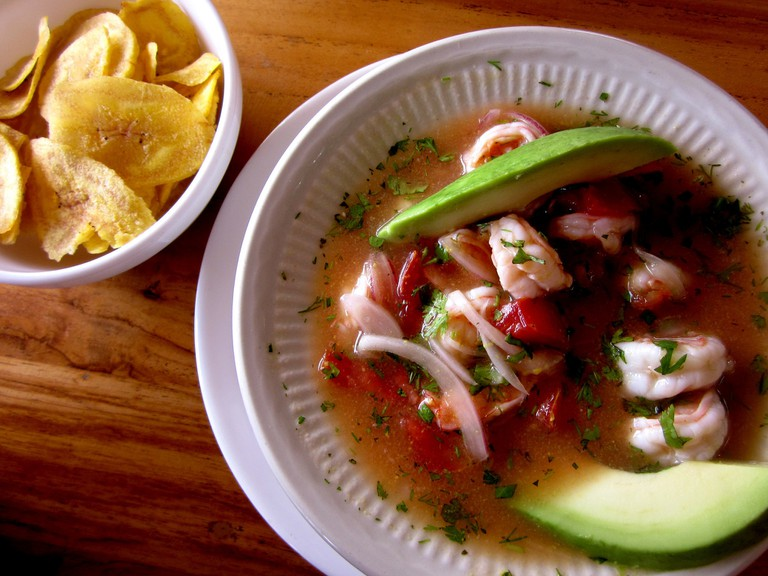 Ceviche de Camarón, Guayaquil, Ecuador | © mariaflorine / Flickr