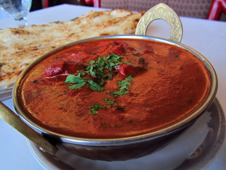 Butter chicken is a North Indian preparation
