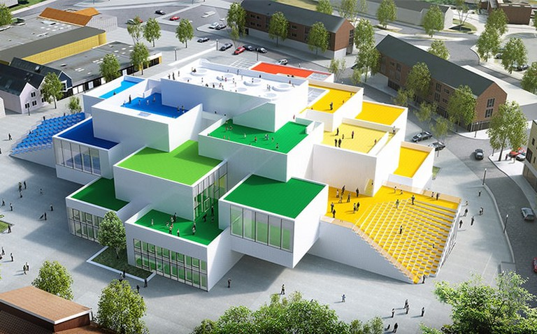 Lego House Side View | © LEGO