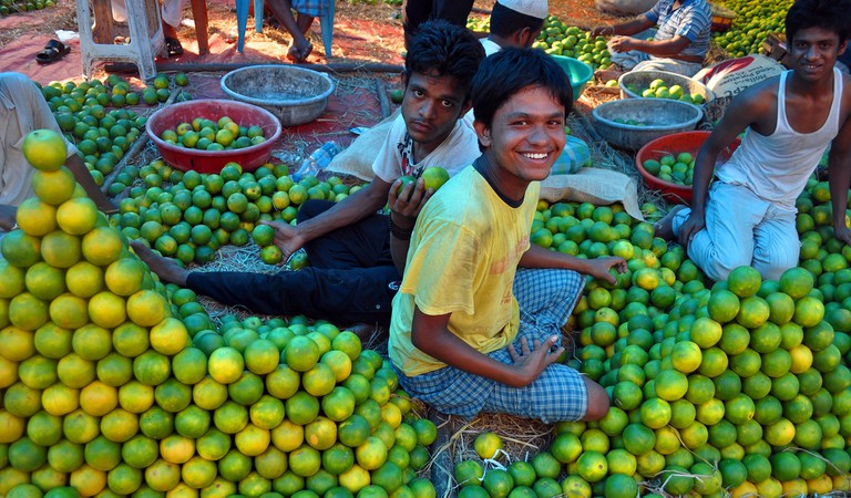 Fruit vendors India