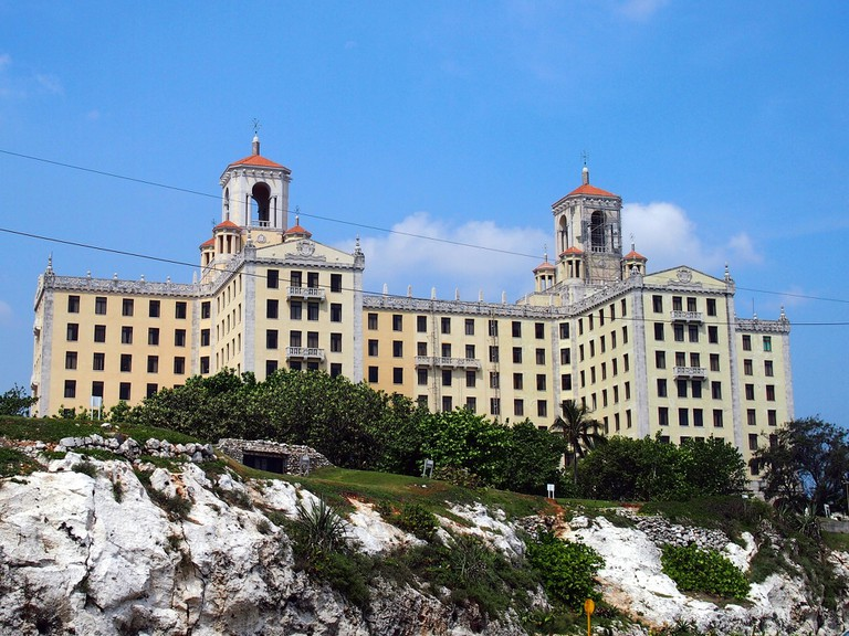 The Hotel Nacional looks down over the Malecon © momo / Flickr