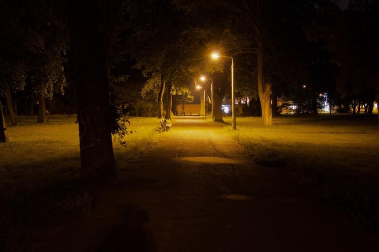 Park bei Nacht (HDR)