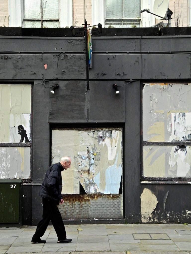 A disused Hamilton-esque shop in Earl's Court