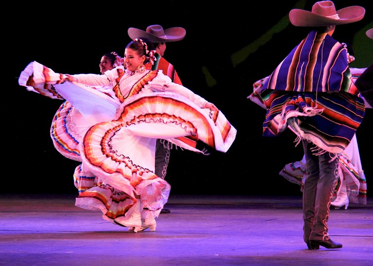 Traditional Jalisco dance