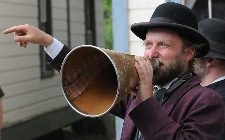 Barkerville pioneer