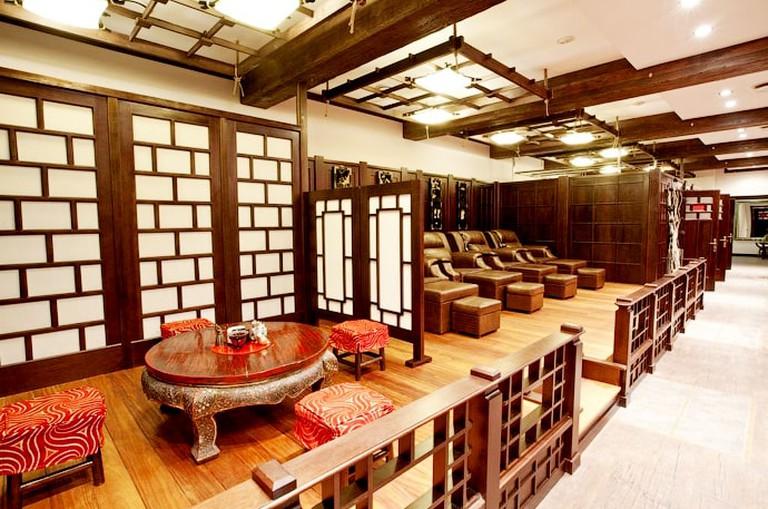 Orient Interiors at Sanduny bath house