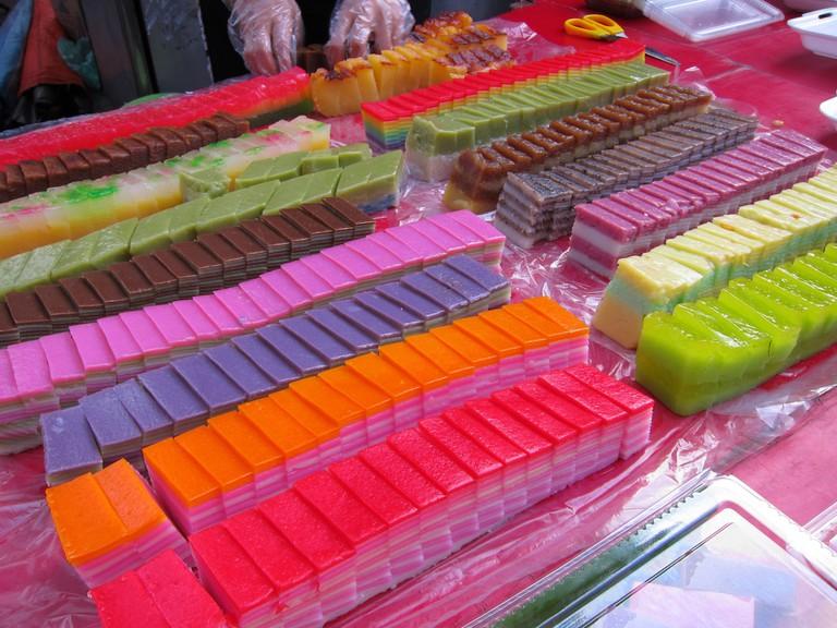 Colourful Nonya Kueh