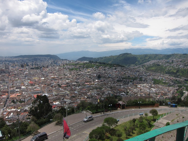 View of central Quito from Panecillo | © Hans Johnson / Flickr