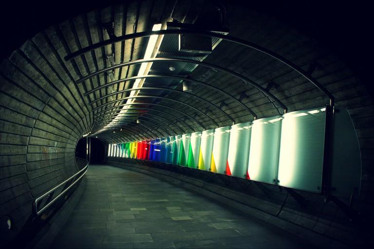 Oslo Nationaltheatret t-bane station