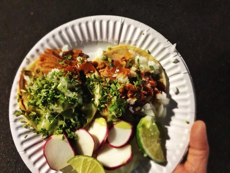 The Al-Pastor tacos from Leo's © T.Tseng