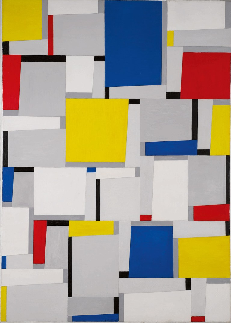 Fritz Glarner, Relational Painting NO. 63. Signed Glarner and dated 1953 | Courtesy of Sotheby's New York