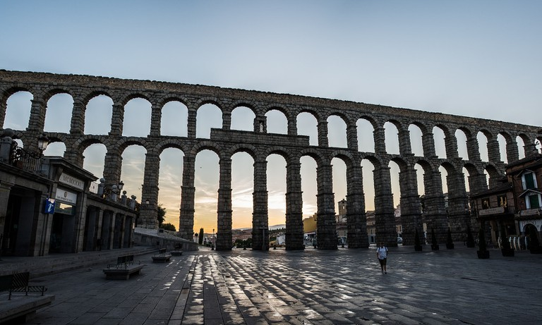 Aqueduct Segovia © Fernando García / Flickr