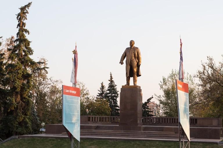 Lenin Statue in Saransk