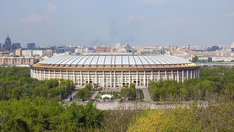Luzhniki Stadium, May 2013