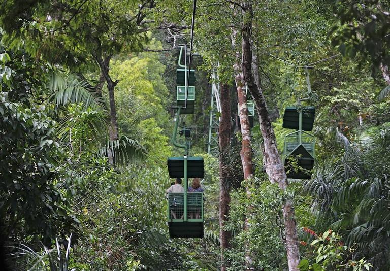Aerial Tram in Gamboa, Panama