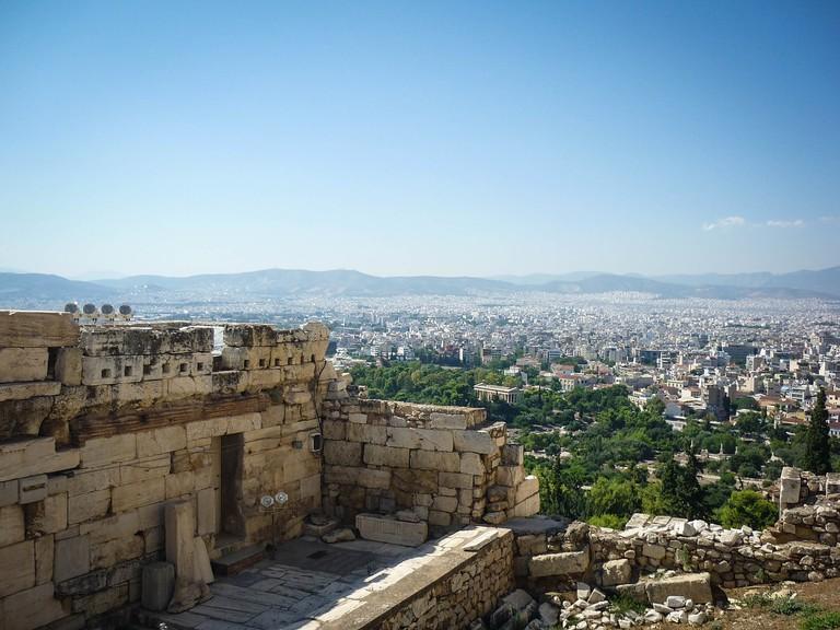 The acropolis CC0 Pixabay