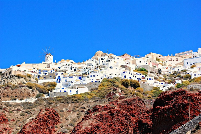 View of Oia from Ammoudi