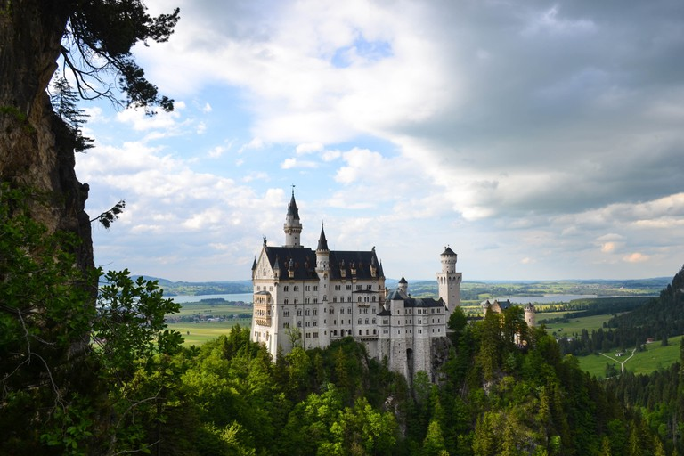 This German castle inspired the makers of Cinderella | © Ashley Knedler / Unsplash