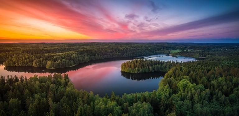 Lake Aulangon | © Lauri Lohi