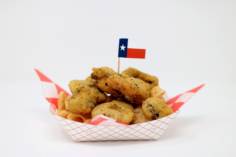 Beer-battered beef jerky at the State Fair of Texas