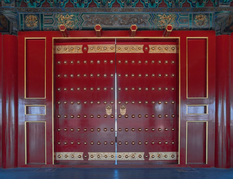 Gate of Supreme Harmony in the Forbidden City