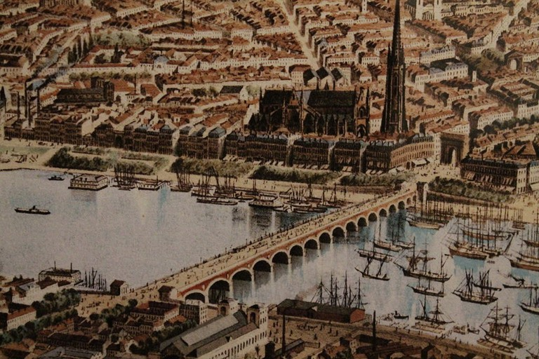 Bordeaux was known for its predominance in the maritime business|© Frédéric Alexianu:WikiCommons