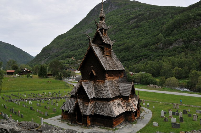 Borgund Stave Church | © jerdam : Flickr