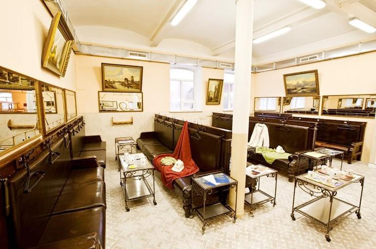 Historic Interiors at Sanduny bath house