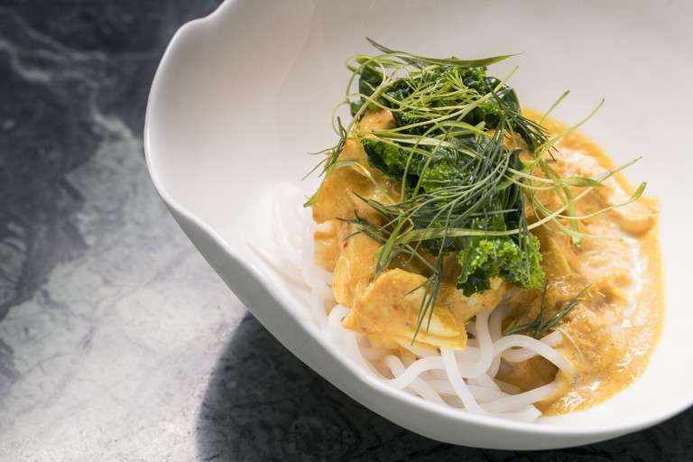 Crab curry noodles from Candlenut