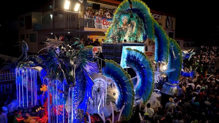 Carnival Parade in Parque Porras, Panama