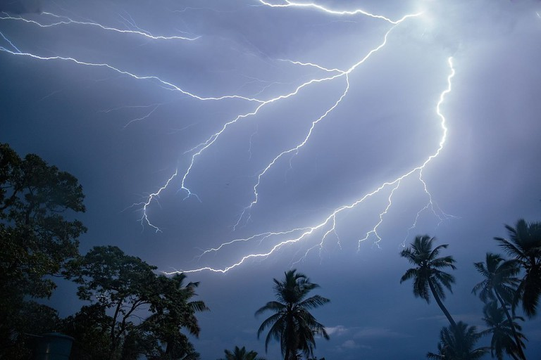 Lightning above Lake Catatumbo