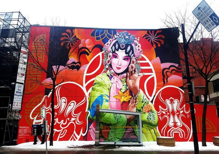 Chinatown Mural, Montreal